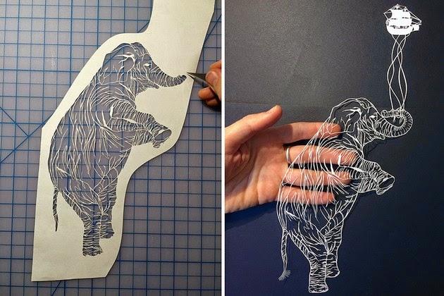 cut paper art illustrations maude white-7