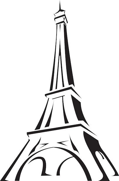 paris eiffel tower cartoon free