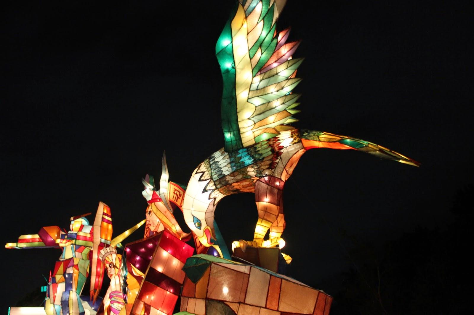 Taipei lantern festival 2015