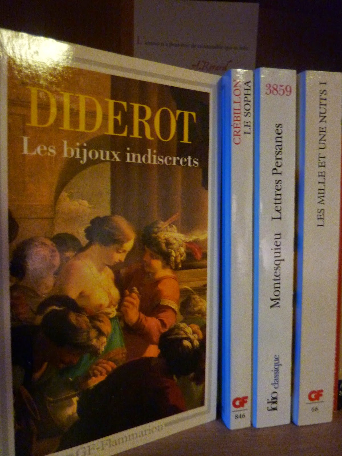 Les bijoux indiscrets - Denis Diderot