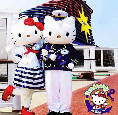 Kapal Pesiar Mewah Hello Kitty mengajak anda berlayar bersama di akhir tahun 2013 ini