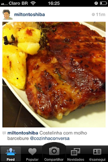 carne, instagram, molho barbecue,