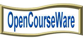OpenCourseWare Banner