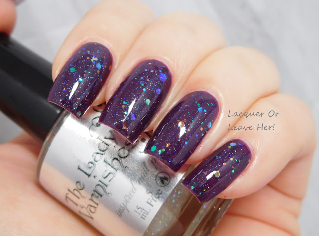 The Lady Varnishes Twink over Zoya Lidia