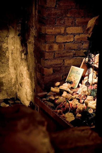 La habitación de Annie en The Mary Kings Close