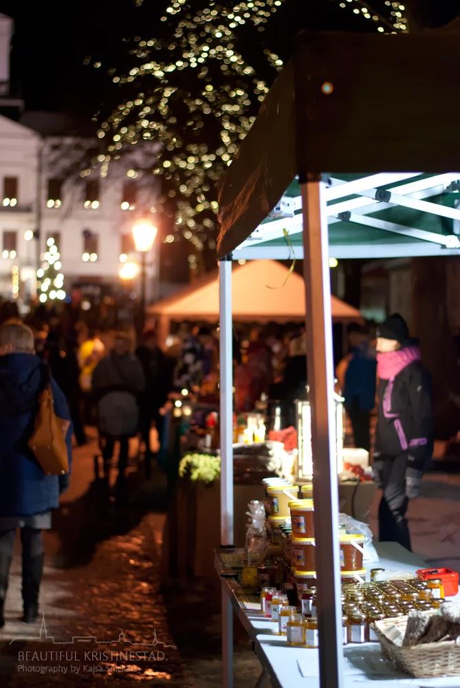 Kristinestad julöppning Kristiinankaupunki joulunavaus