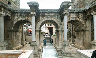 (Turkey) - Hadrian gate - Antalya