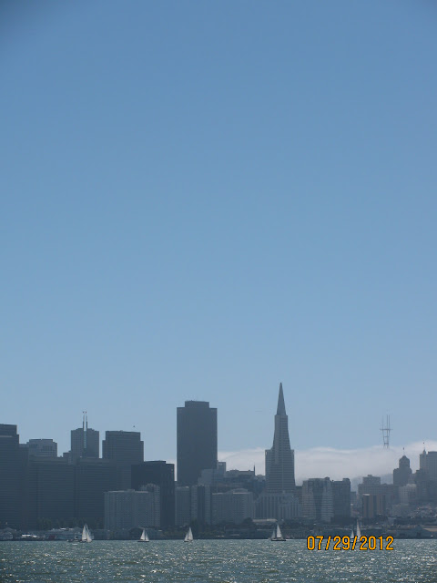 TransAmerica Building & Coit Tower in the San Francisco Fog