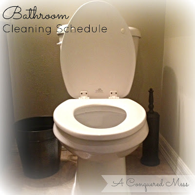 The Cleaning Schedule That Saved My Bathrooml