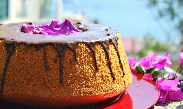 Chiffon cake fluffosa