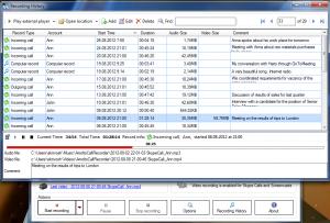 Amolto Call Recorder for Skype 2.2 برنامج مجانى لتسجيل المكالمات تلقائياً من سكاي بي