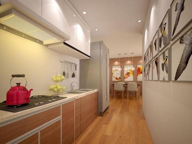 Phòng bếp căn hộ Happy Star Tower