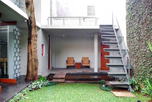 2-floor townhouse, Indonesia