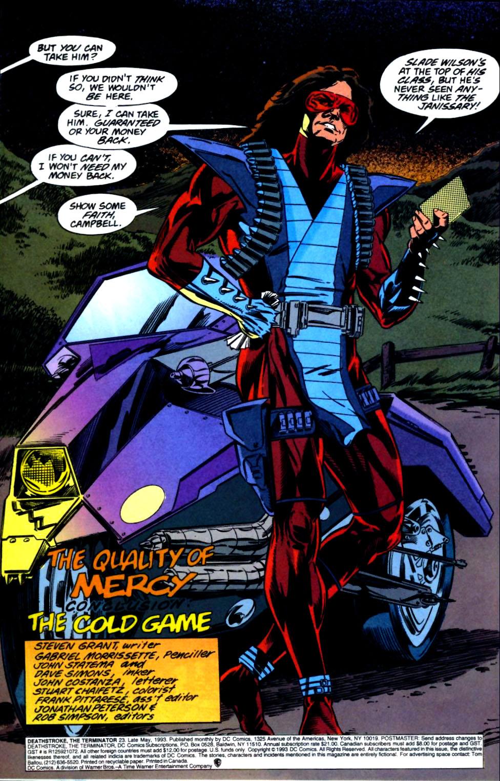 Deathstroke (1991) Issue #23 #28 - English 3