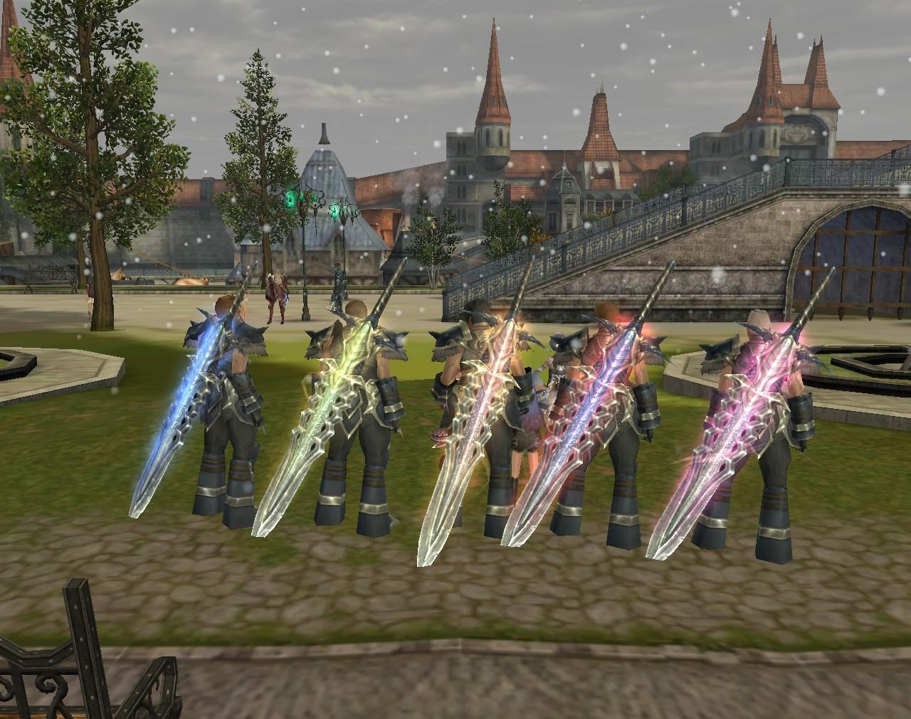 Aika - Weapon Glows