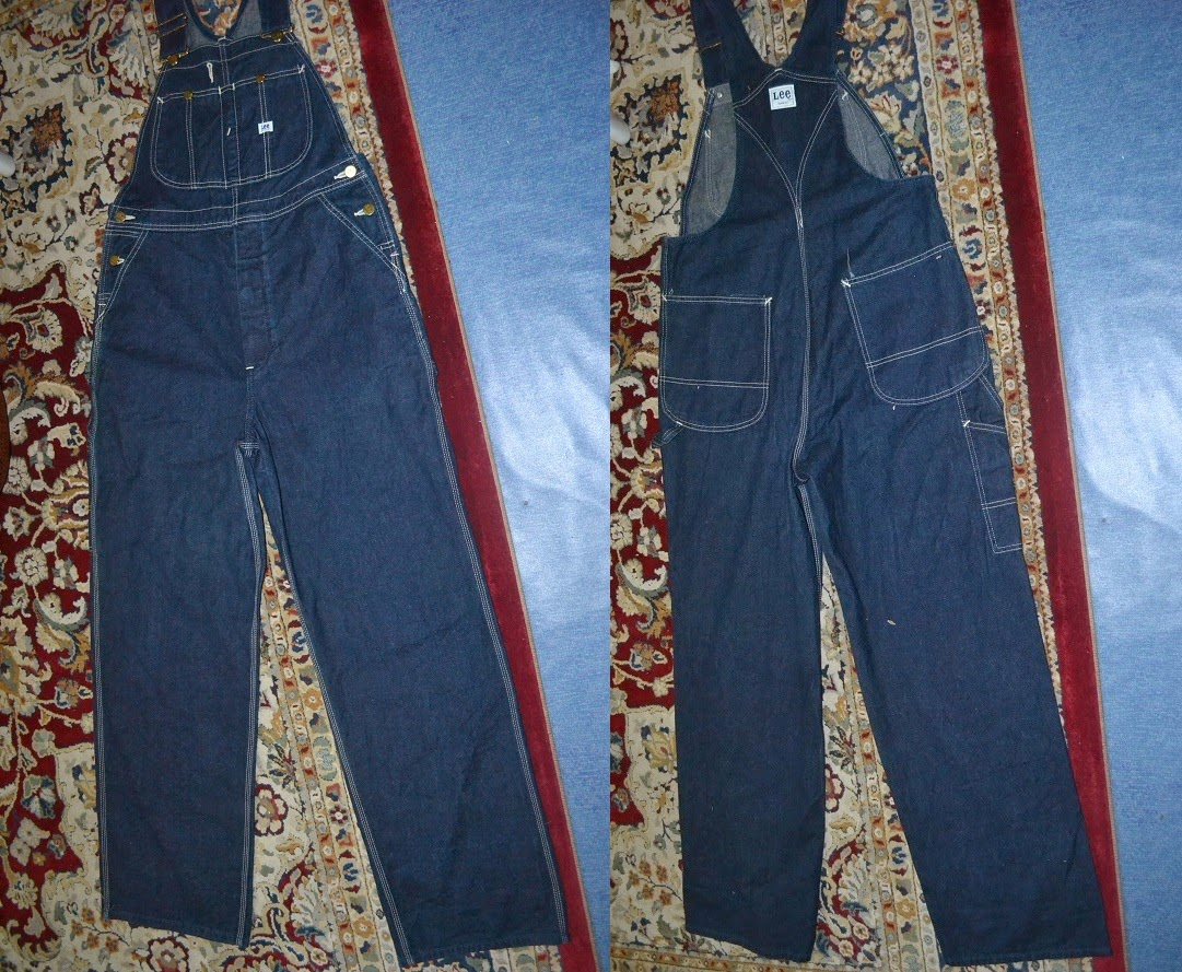 Bundleclothing Overall Lee Sanforized Size 35 36 Made In Japansold Andrew Smith Regular Fit Jeans Biru 31 Tuesday 25 March 2014