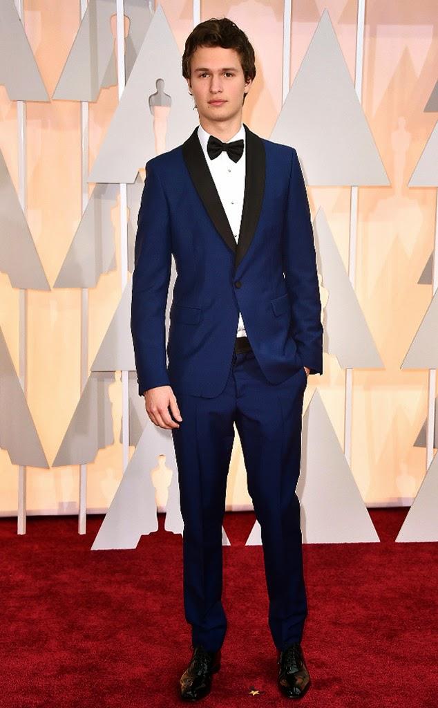 Ansel Elgort Academy Awards 2015 Oscars