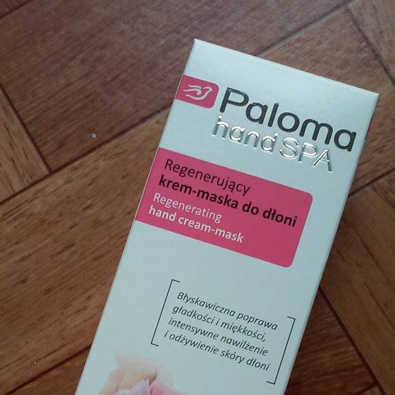 Paloma Regenerujący krem-maska do dłoni!
