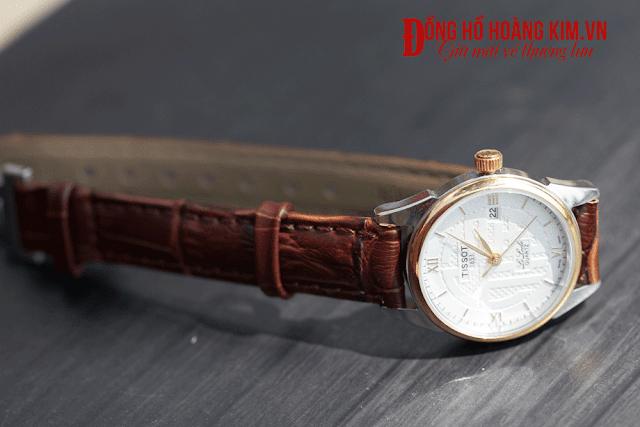 Đồng hồ nữ dây da bản nhỏ Tissot