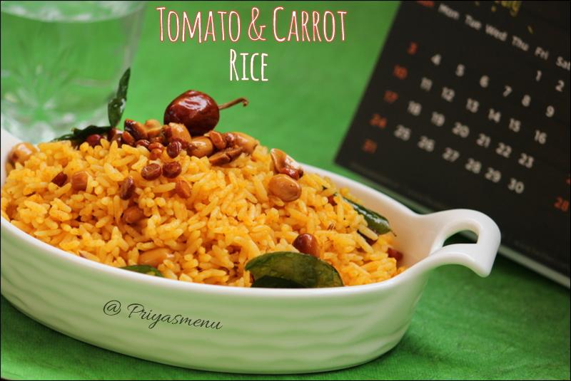 Tomato & Carrot Rice