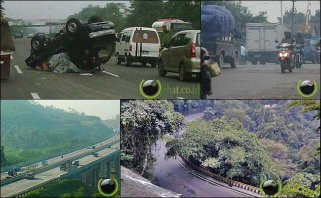 9 Jalan Raya Membawa Kematian di Indonesia