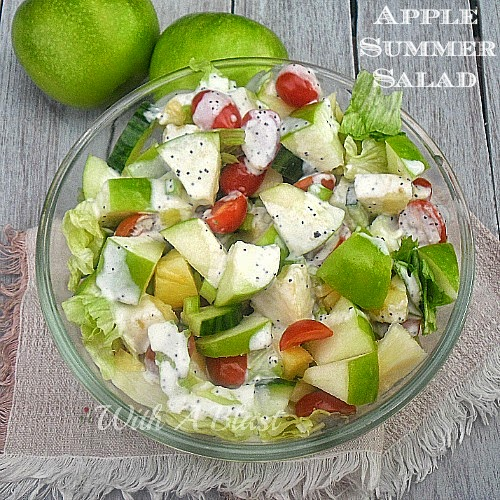 Apple Summer Salad