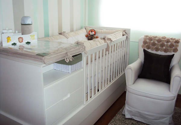 Decoração  Como ampliar quartos pequenos  Dicas pra Mamãe