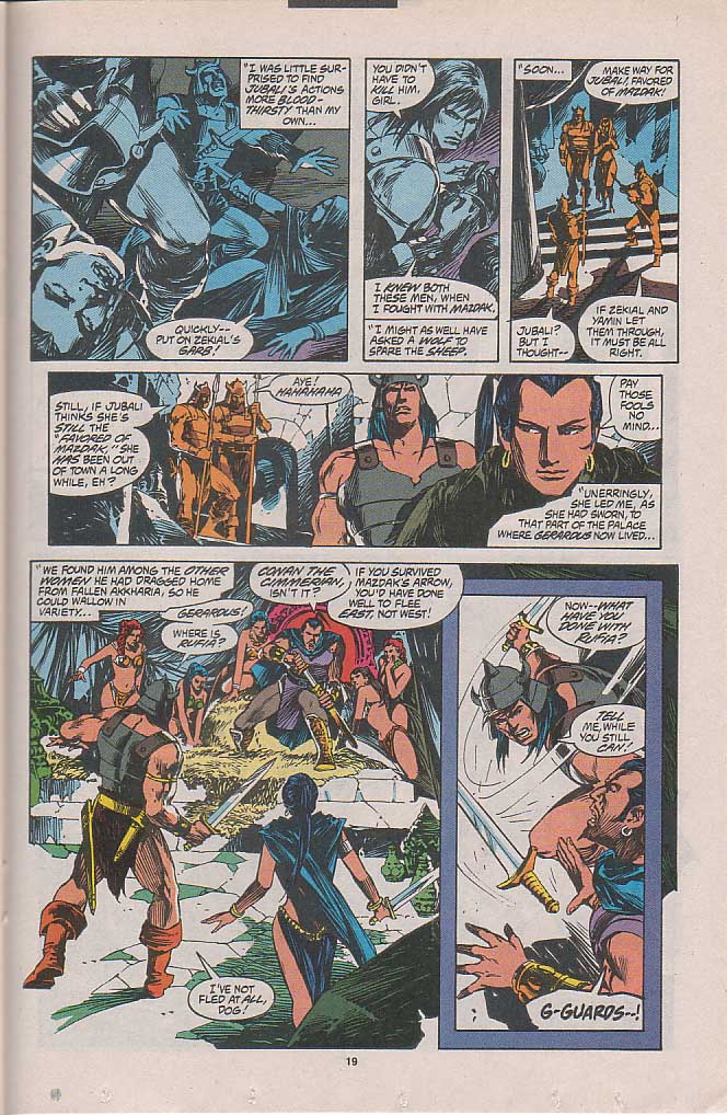 Conan the Barbarian (1970) Issue #262 #274 - English 14