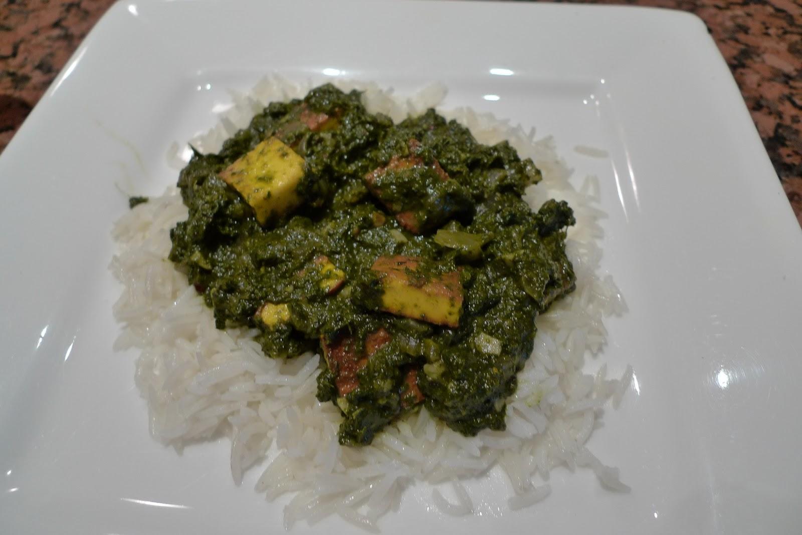 Saag Paneer Recipes — Dishmaps