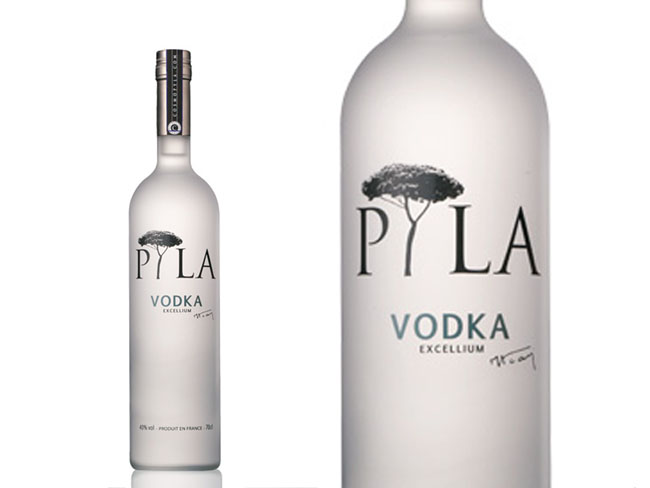 Pyla French Vodka On Packaging Of The World Creative