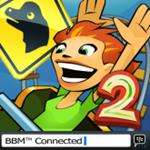 3D Rollercoaster Rush Jurassic 2 for BlackBerry