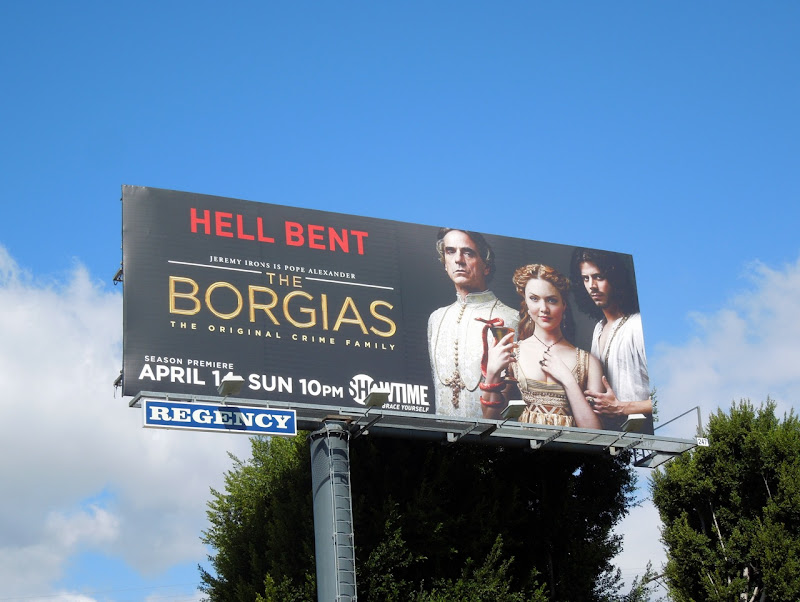 Borgias season 3 billboard