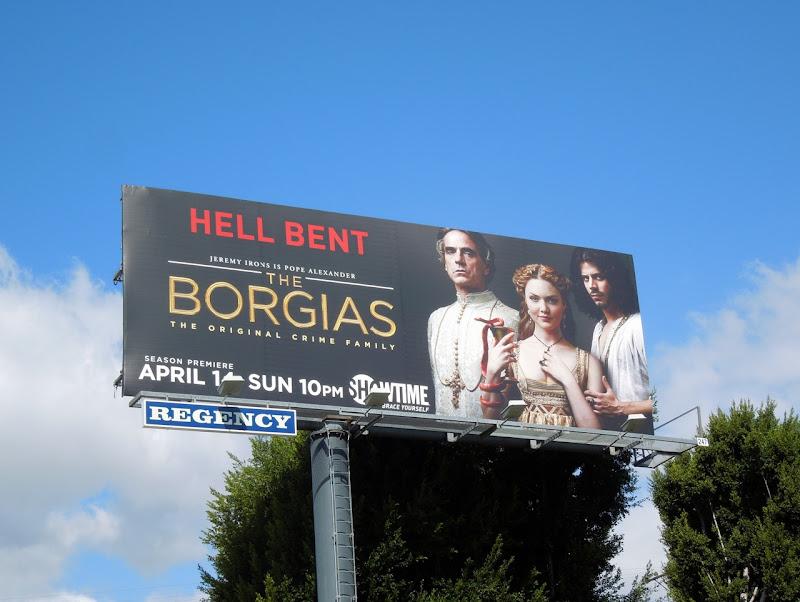 Borgias season 3 billboard