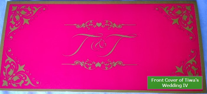tiwa savage wedding invitation