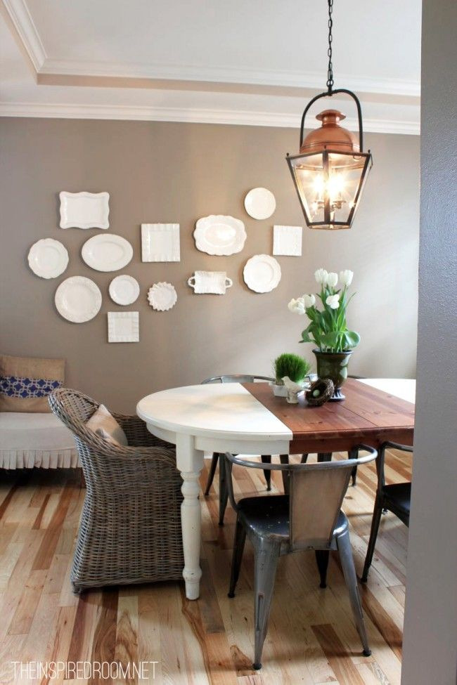Serenity Now Plate Wall Inspiration
