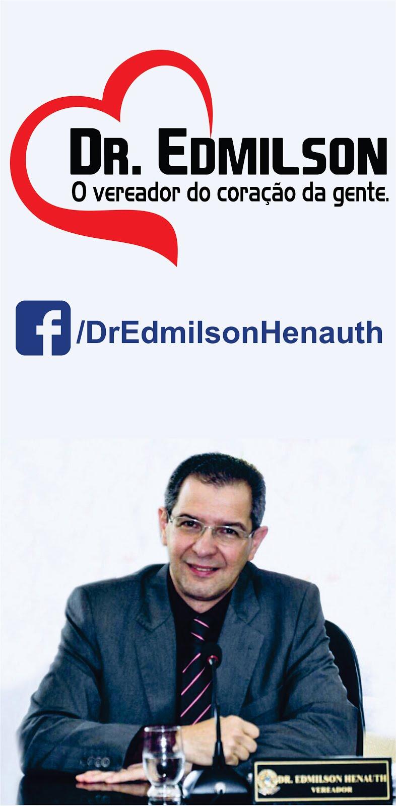 Dr. Edmilson está no Facebook