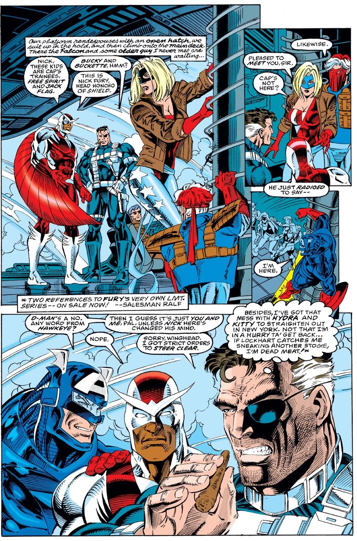 Captain America (1968) Issue #440 #392 - English 6