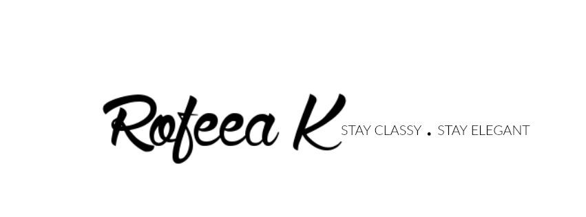 Rofeea's blog