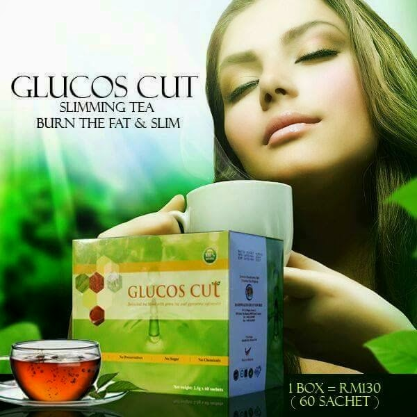 GLUCOS CUT - TEH SEKAT GULA - NEW (HOT)