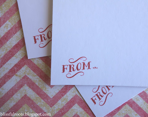 Printable Valentine Love Notes from Blissful Roots