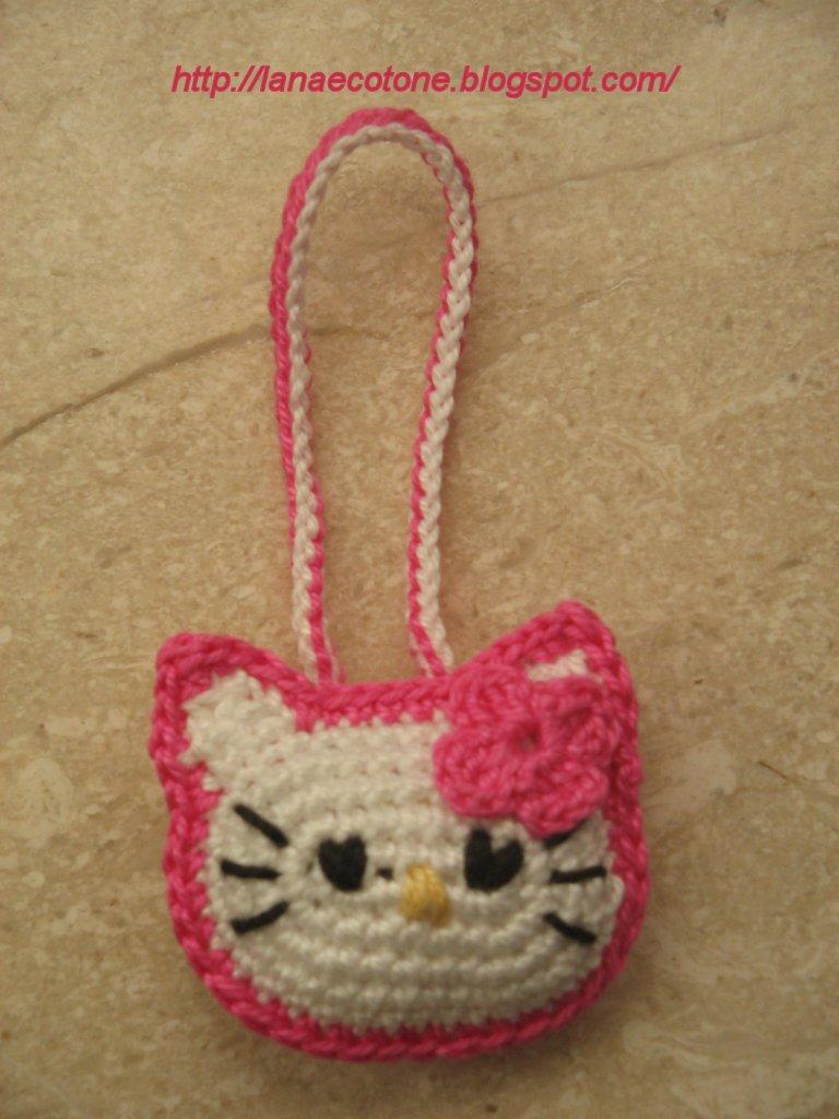 Hello Kitty Amigurumi Schema Italiano : Lana e Cotone (maglia e uncinetto): Amigurumi Hello Kitty