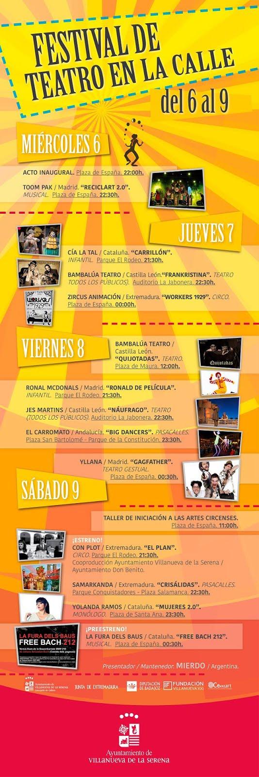 XXI Festival de Teatro en la Calle 2016