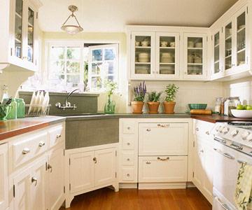 New Home Interior Design Corner Kitchen Sink Ideas
