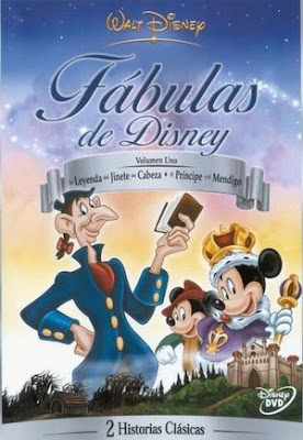 Fabulas de Disney Volumen 1 – DVDRIP LATINO