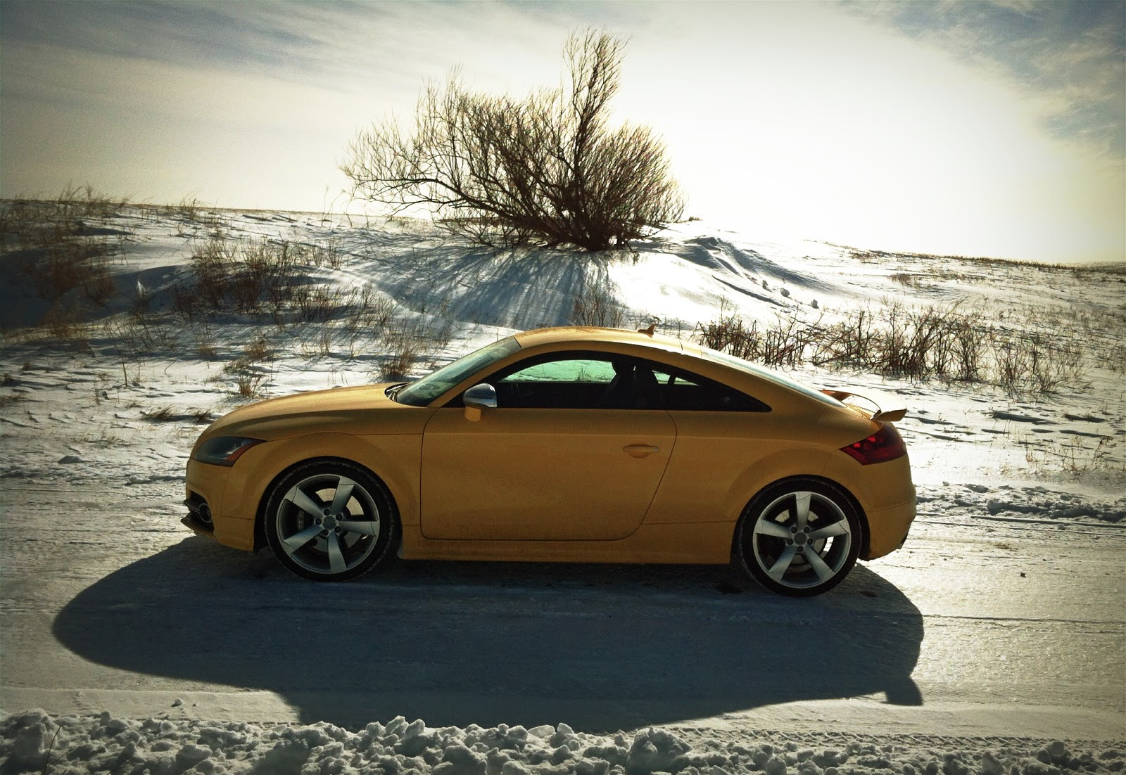 2015 Audi TTS Coupe Competition profile