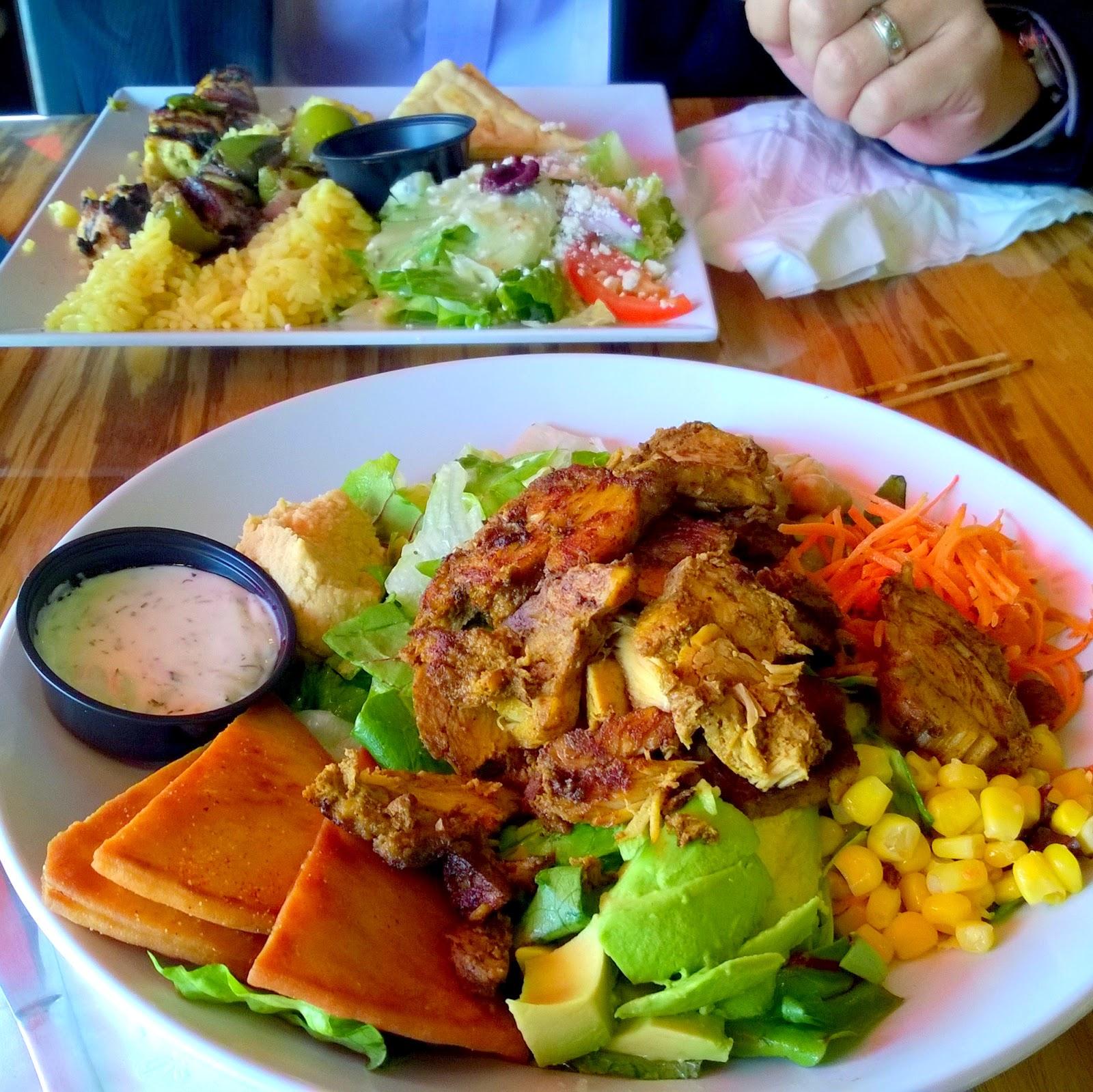 Daphnes chicken shawarma sandwich