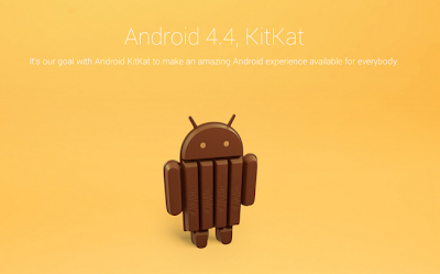 Android 4.4 operating system will be called with the name KitKat
