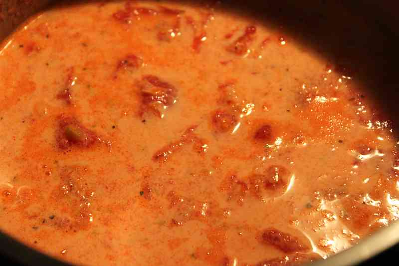 Tomato Bisque, a Quick Meal