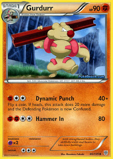 Gurdurr Plasma Storm Pokemon Card