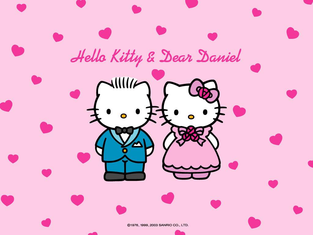 Ini pacarnya hello kitty DEAR DANIEL dan keluarga -keluarganya